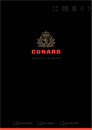 Cunard Cruises 2018 Rejsekalender program